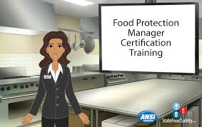 food manager certification training   statefoodsafety com