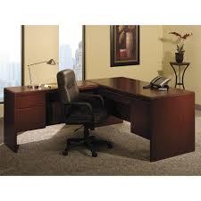 bush northfield l shaped executive desk package norpackaged bush saratoga computer desk