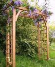 Арки деревянные садовые