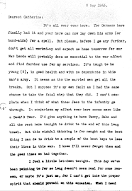 n j teacher uses father s wwii letters to show students the human conrad to catherine jpg