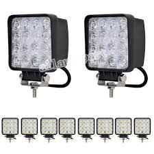cool works cup promotion shop for promotional cool works cup on 10 pcs spot 48w 4 square led work light cool white 6000k 2760lumens for atv jeep wrangler 4x4 rv trailer fishing boat