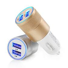 <b>Universal</b> 2.1A Car Charger 2 Port Mini <b>Dual USB</b> Car Charger ...
