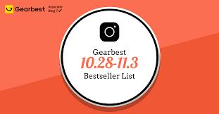 [Update 10/28] Gearbest Bestseller List: Extra $20 Bonus Each Unit ...