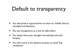 the advantages and workflows of fully transparent email transparency value