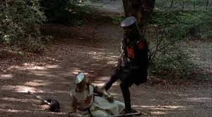 Image result for the black knight monty python