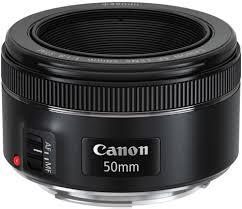 <b>Объектив Canon EF</b> 50mm f/1.8 STM черный купить в Москве ...
