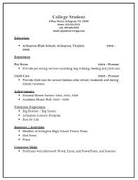 resume example   sample of high school resume for college    sample of high school resume for college application high school resume format for college application resume