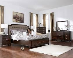 Modern Bedroom Collections Larimer Upholstered Headboard Bedroom Set With Button Tufting In