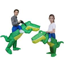 KOOY Adult Kids <b>Inflatable Costume</b> Crocodile Walking Animal ...