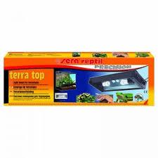 PK <b>Sera</b> Reptil Terra Top (<b>Светильник</b> для террариума) 57x7x19,5 ...