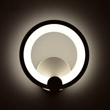 12W Round <b>Modern LED Wall</b> Light For Indoor Home Sconce Wall ...