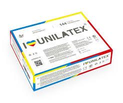 <b>Разноцветные ароматизированные презервативы Unilatex</b> ...
