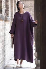 Rice <b>Korean Style Cotton</b> Linen Falbala Bat Sleeve Round Neck ...