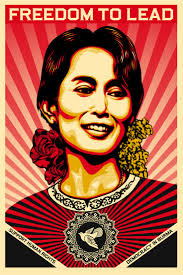 best images about art images and photography aung san suu kyi famous as political leader dom fighter of myanmar born on 19 1945 born in yangon rangoon burma myanmar nationality