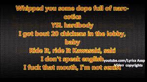 "Young Thug ""Again"" Feat Gucci Mane (Lyrics) on SCREEN - YouTube"