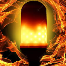 Utorch E27 <b>LED Flame Effect Light</b> Bulb AC 85 - 265V | Gearbest
