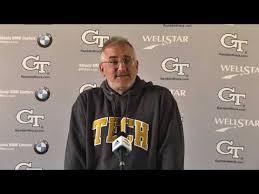 Geoff <b>Collins</b> Weekly Press Conference – Football — Georgia Tech ...