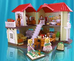Купить <b>кукольные домики</b>, <b>мебель</b> и семейки лесных зверьков ...