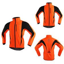 <b>ARSUXEO Men's</b> Winter <b>Cycling Jacket</b> Fleece <b>Bike Jersey</b> ...