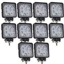 AUXTINGS 10 Pcs 4 inch 27W Flood LED Work Light ... - Amazon.com