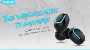 $8 with coupon for <b>Alfawise HBQ</b> - Q13S Mini Bluetooth 4.1 Sport ...