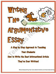 argumentative essay outline  directed writing o level english  argumentative essay writing the writers workshop approach product from alwayslearning on teachersnotebookcom