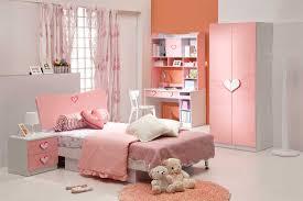 charming pink wall kids bedroom charming kids desk