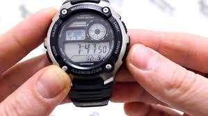 <b>Часы Casio</b> Illuminator <b>AE</b>-<b>2100W</b>-<b>1A</b> - Инструкция, как настроить ...