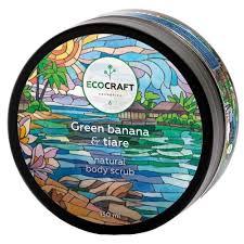 Купить <b>EcoCraft Скраб для</b> тела Green banana and tiare, 150 мл в ...