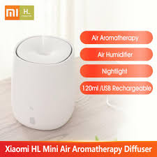 <b>HL</b> Mini <b>Air Aromatherapy</b> Diffuser Portable USB Humidifier Quiet ...