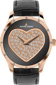 <b>Часы женские</b> черные <b>Jacques lemans</b> купить в интернет ...