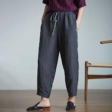 <b>Plus Size</b> Casual Ankle-Length <b>Lantern</b> Pants – BUYKUD