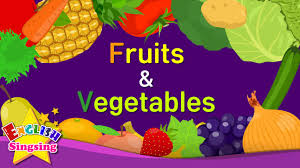 Kids vocabulary - [NEW] <b>Fruits</b> & <b>Vegetables</b> - Learn English for kids ...