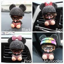 Doll <b>Clip</b> Air Conditioning Folder Mini Rhinestone <b>Car Export</b> ...