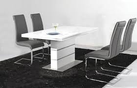 Dining Room Table And 4 Chairs High Dining Room Tables And Chairs Dining Table In High Gloss