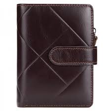 Buy <b>Genuine Leather</b> Mens wallet vintage brand Big <b>lattice</b> purse ...