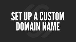 Squarespace Tutorial: Set Up a Custom Domain Name - YouTube