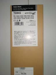 <b>Epson T6945</b> Ink Cartridge, <b>Matte Black</b>, 700ml