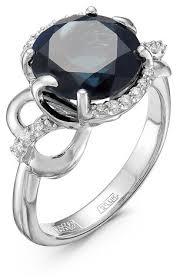 Бриллианты Костромы <b>Кольцо с топазом и</b> бриллиантами из ...