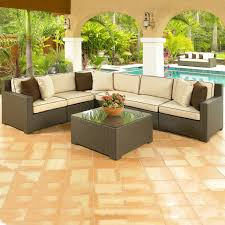patio furniture sectional ideas: image of elegant sectional outdoor furniture