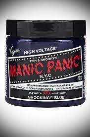<b>Shocking Blue</b> Manic Panic Semi Permanent Hair <b>Colour</b>