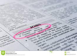 clasified ad job hunting royalty stock photography image clasified ad job hunting