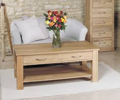 bonsoni mobel oak four drawer coffee table bonsoni mobel oak hideaway
