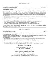 sample resume for director operations operations manager resume sample resume for director operations resume operations manager example resumes for national s manager clasifiedad com