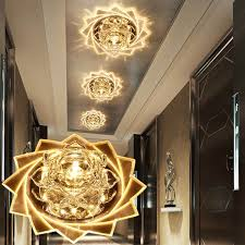 <b>LAIMAIK Crystal LED Ceiling</b> Light 3W 5W Modern LED Crystal ...