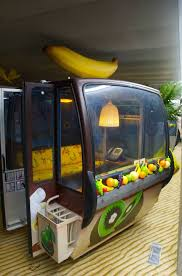 this may be a meeting room with banana on top amazing google office zurich