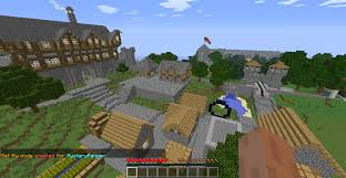 are you a good builder server recruitment servers minecraft or make a mountain world edit and make a village insde