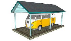 Attached carport plans   MyOutdoorPlans   Free Woodworking Plans    DIY Carport Plans