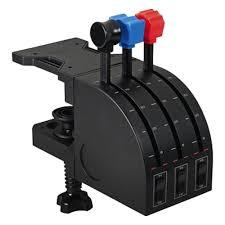 <b>Джойстик Logitech G Saitek</b> PRO Flight Throttle Quadrant USB (945 ...