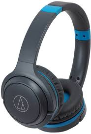 <b>Наушники Audio</b>-<b>Technica ATH</b>-<b>S200BT</b> (синий)